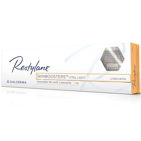 Restylane Skin Booster Vital Light Lidocaine 1ml D16