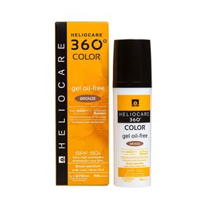 Heliocare 360 Color Gel Oil-Free Bronze 50ml