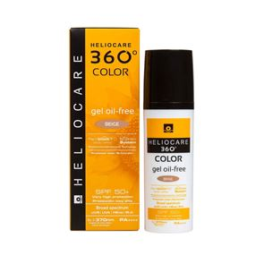 Heliocare 360 Color Gel Oil-Free Beige 50ml