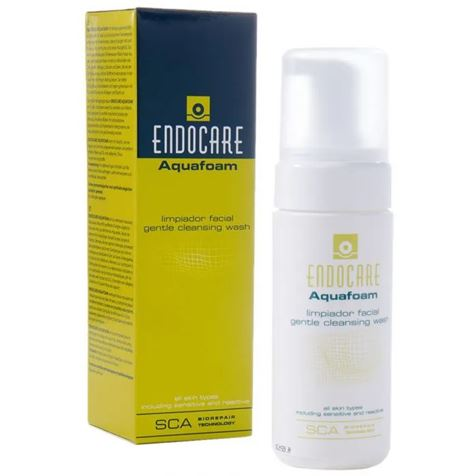 Endocare Aquafoam Cleansing Wash 125ml