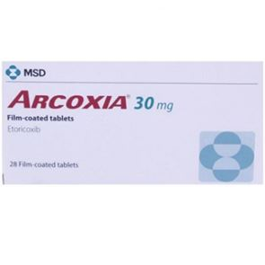 Arcoxia 30mg 28 Tablets