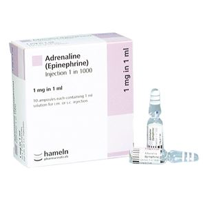 Adrenalin (1:1000 1ml) Box of 10