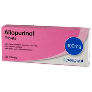 Allopurinol 300mg 28 Tablets