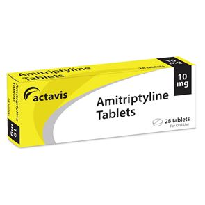 Amitriptyline 10mg x 28 tablets