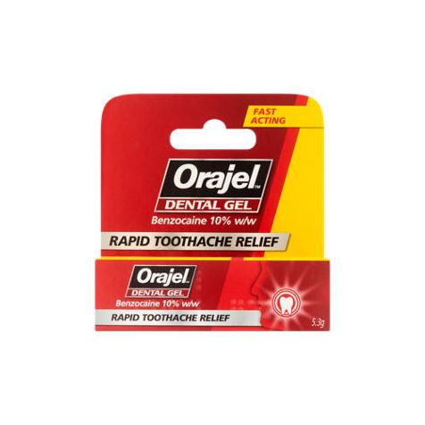Oral Benzocaine 10% (for gum anaesthesia)