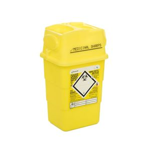 Sharps Bin 1 Litre Single