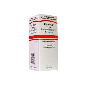 Buccolam (Midazolam) 10mg/2ml 4 syringes