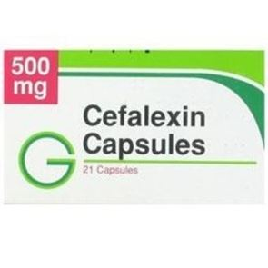 Cefalexin 500mg Pack 21