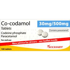 Co-codamol 30/500mg 100 Tabs