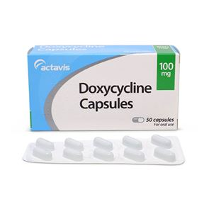 Doxycycline 100mg 50 Capsules