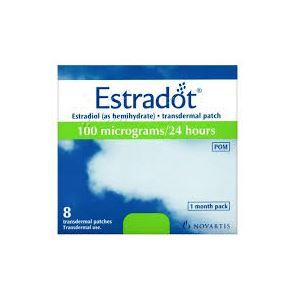 Estradot 100mcg 8 Patches