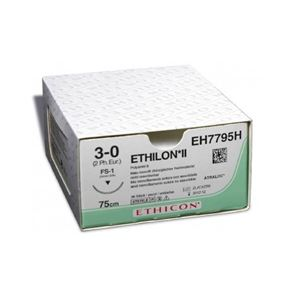 Ethilon 3.0 Non-Absorbable Suture Box of 20