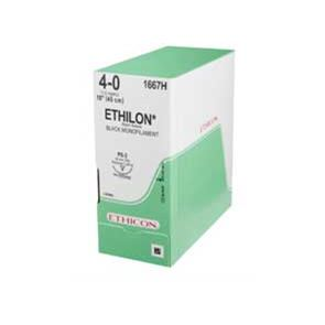 Ethilon 4.0 Non-Absorbable Suture Box of 20