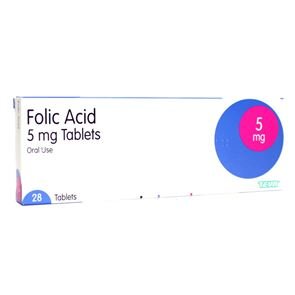 Folic Acid 5mg 84 tablets