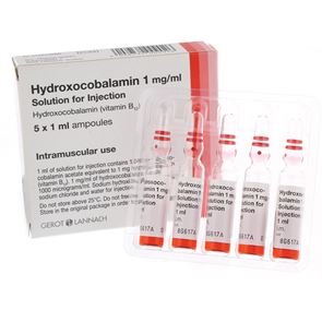 Hydroxocabalamin 1000mcg/ml 1ml Single amp