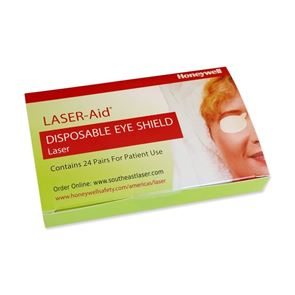 Laser Aid Eye Shields (24 pairs in a box)