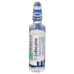 Lidocaine 2% Ampoules 5ml (Single)