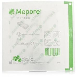 Mepore Sterile Dressings 10cm x 11cm Box of 40