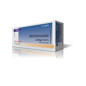 Methotrexate 2.5mg 24 Tabs