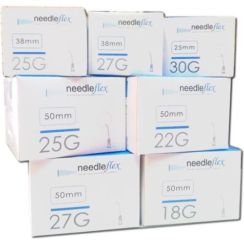 Mesotech NeedleFlex Cannula 27Gx50mm