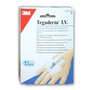 Tegaderm IV 7x8.5cm (Cannula Fasteners) Single