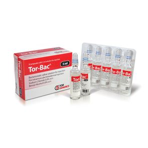 Tor-Bac Ampoules 10x5ml
