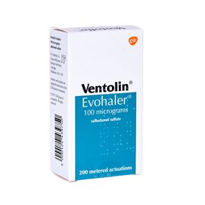Ventolin Inhaler 100mcg