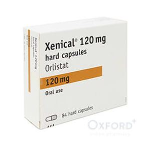 Xenical 120mg 84 capsules