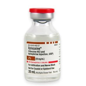 Xylocaine 2% (Lidocaine 2% with adrenaline)