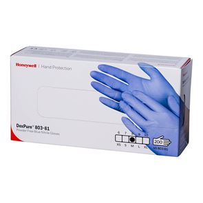 Nitrile Powder Free Blue Gloves 200 Medium