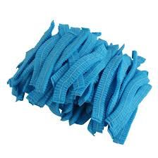 Pleated Mop Cap Blue (Pack of 100)