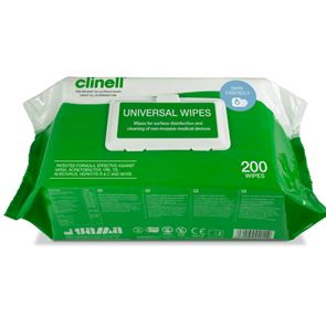 Clinelle 200 Universal Wipes