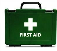 First Aid kit empty box for ACE kit