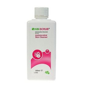 Hibiscrub Antimicrobial Hand wash with Chlorhexidine 500ml