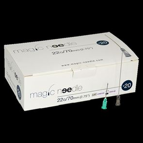 Magic Needle 22G x 70mm Box of 20