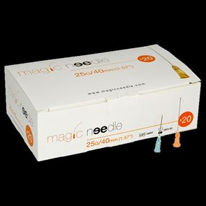 Magic Needle 25G x 40mm Box of 20